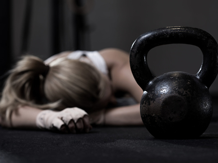 remove over training stress